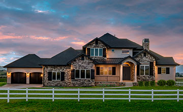 colorado custom home exterior