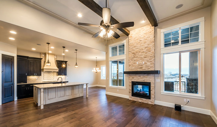 colorado custom home Open Floor Plan