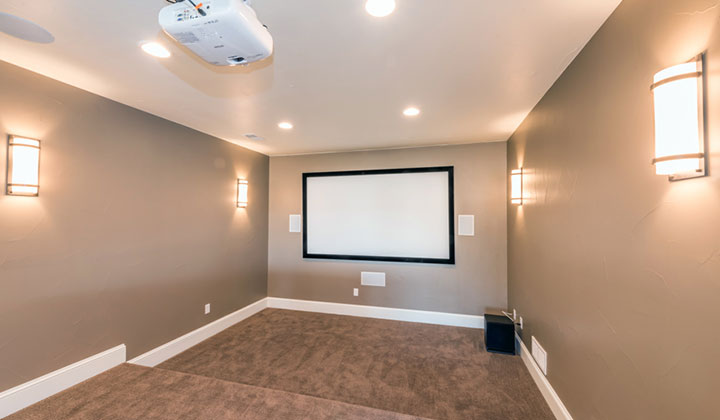 colorado custom Home Theater