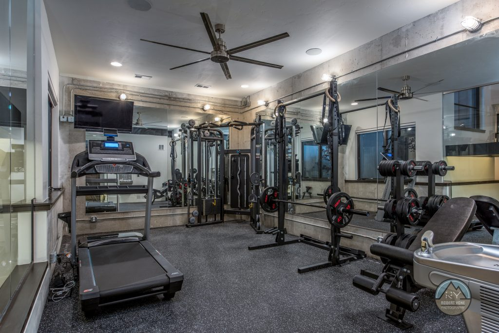 NoCO Custom Homes customized gym
