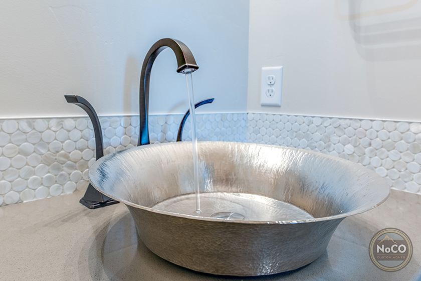colorado custom home sink