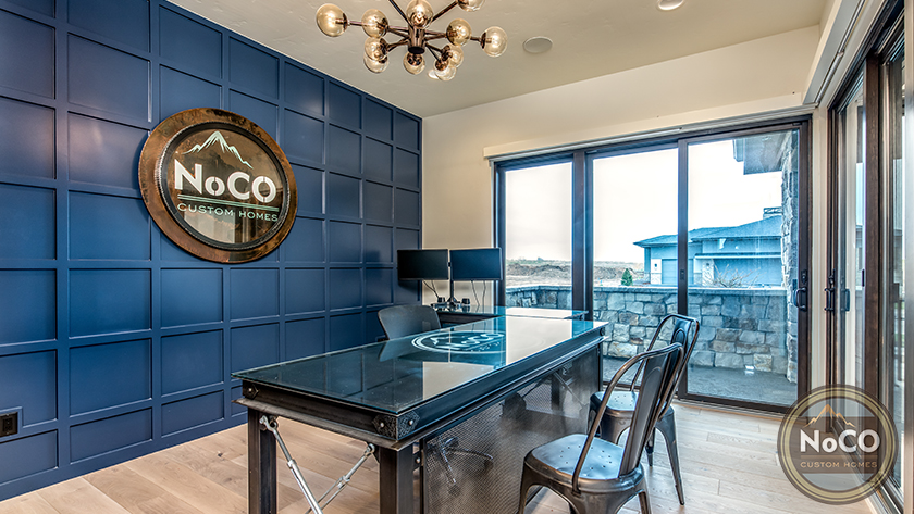NoCO custom homes office