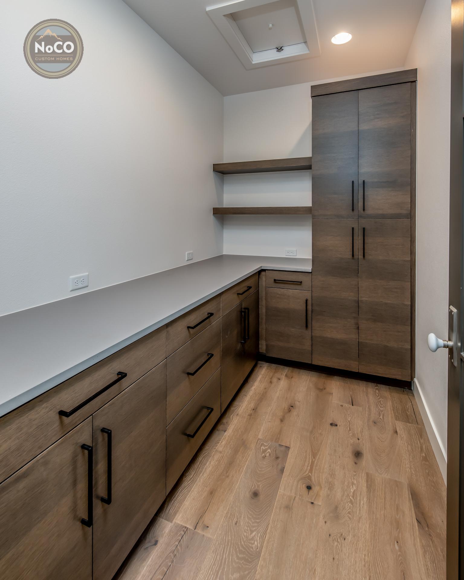 colorado custom home pantry
