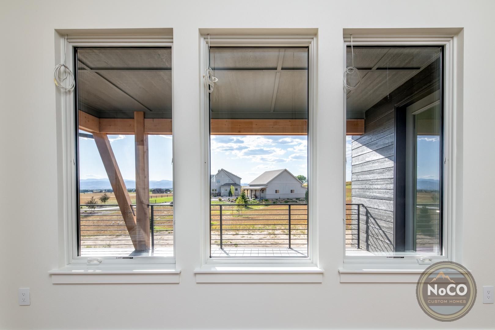 colorado custom home windows