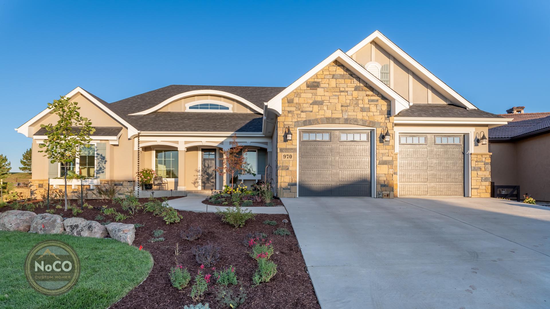 colorado custom home exterior