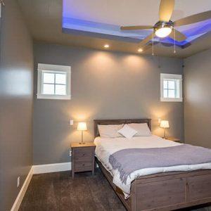 colorado custom home guest Bedroom