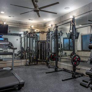colorado custom home gym