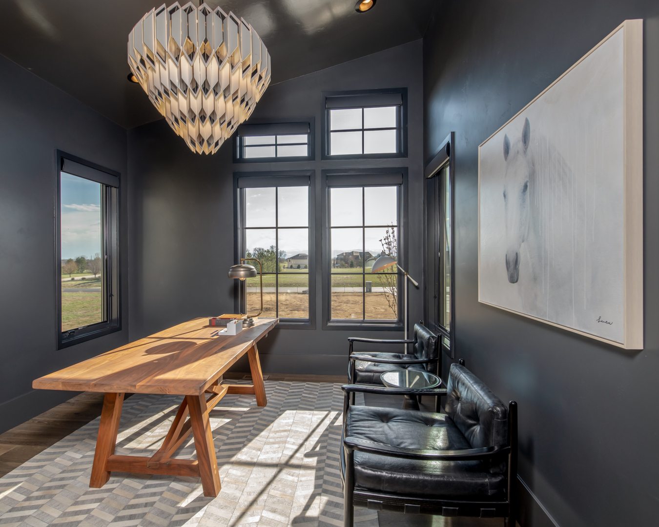 colorado custom home office