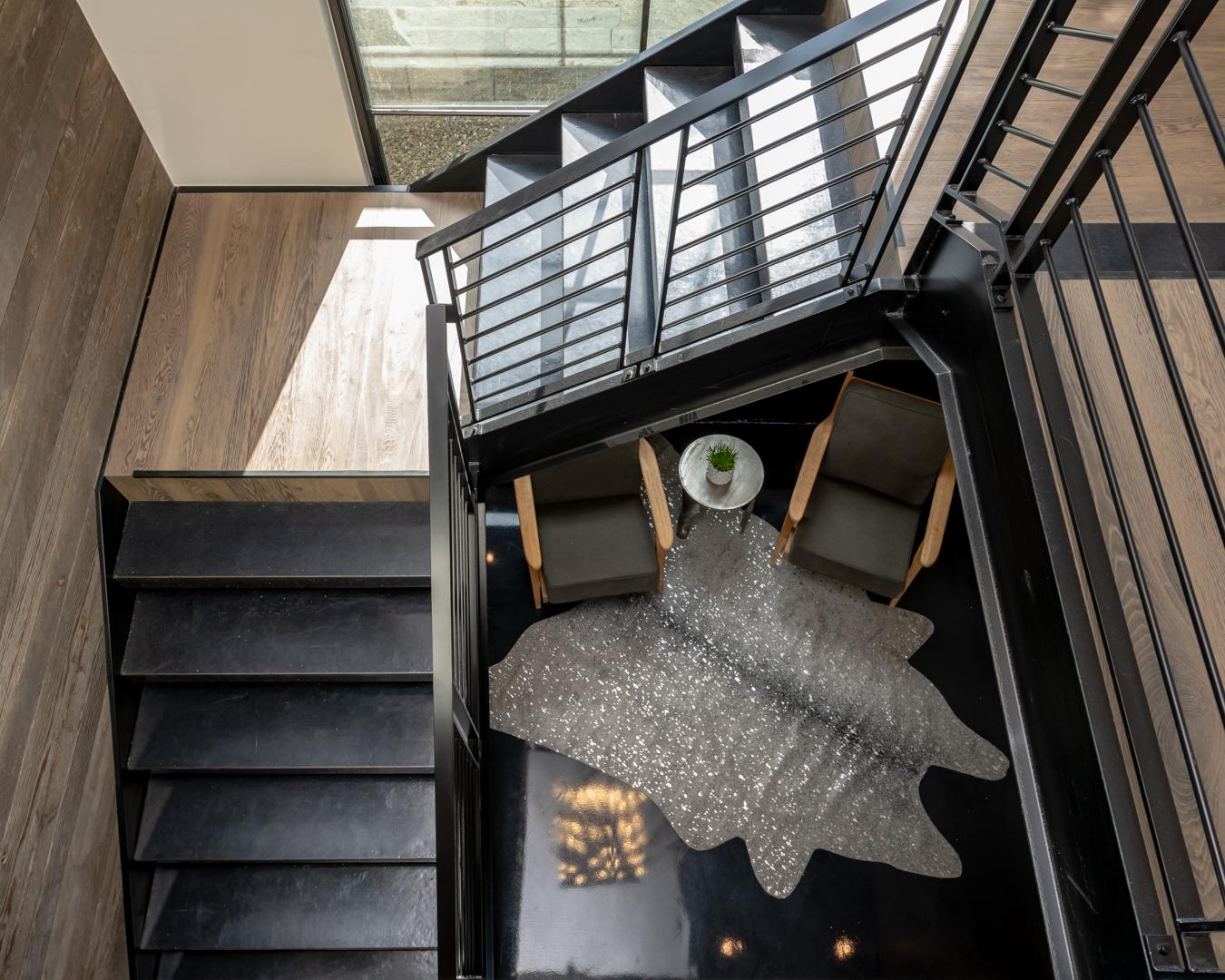 colorado custom home stairs