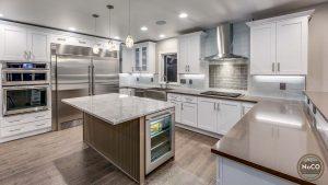 colorado custom home quartz countertop