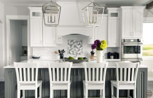 northern colorado custom home kitchen