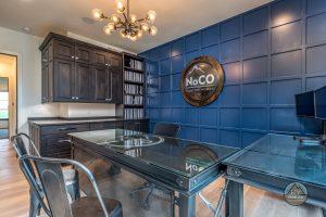 colorado custom home accent wall