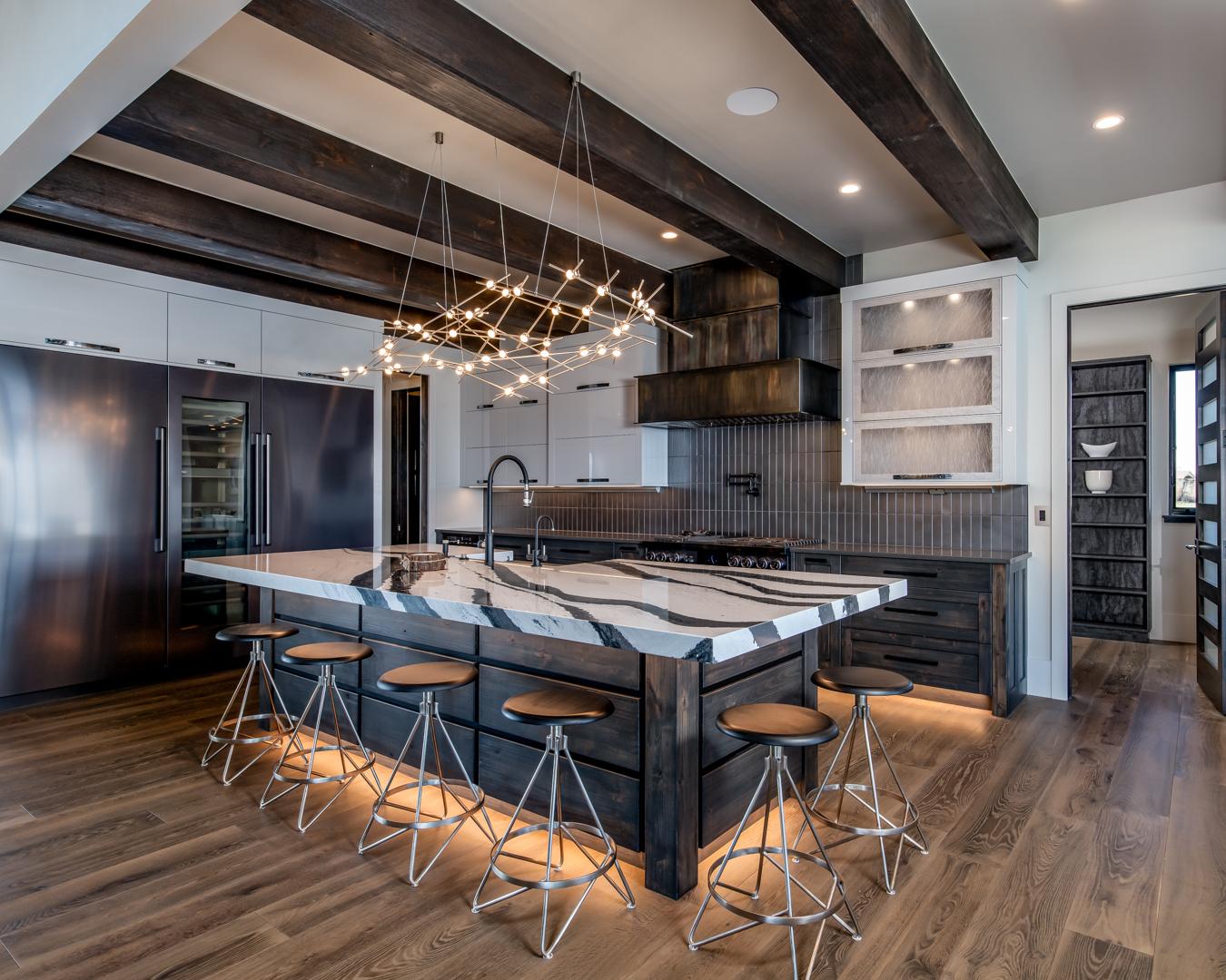 Colorado chef's kitchen design