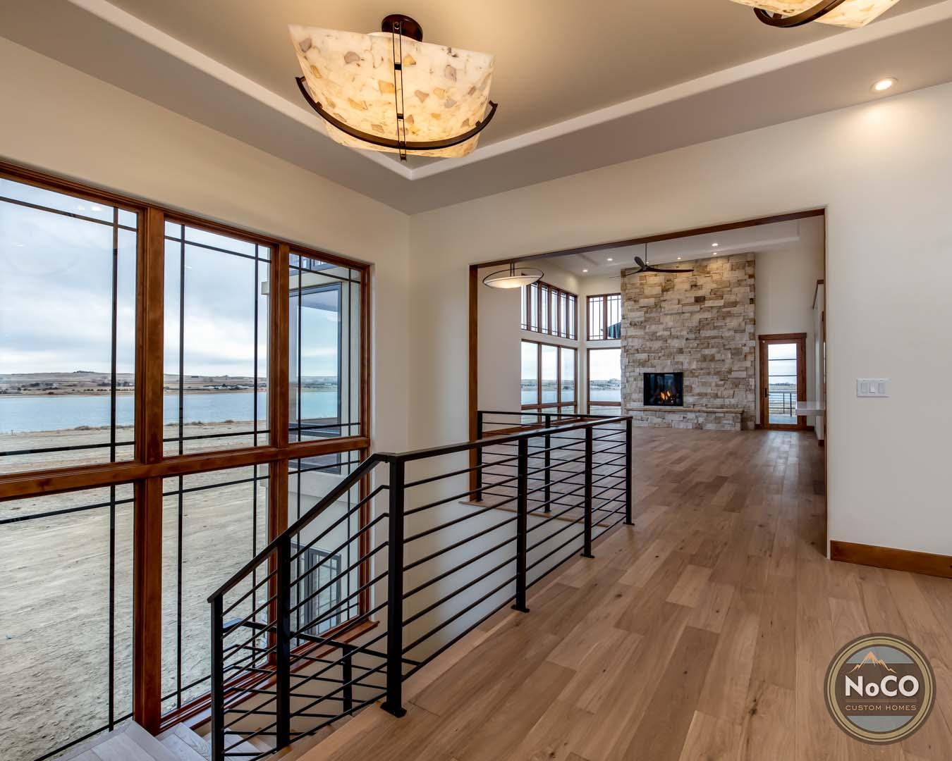 colorado custom home open concept floor plan