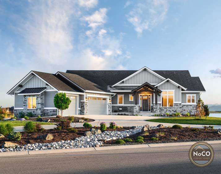majestic manor colorado custom home exterior