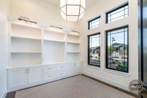 visual comfort light fixture colorado home office