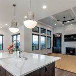 visual comfort lighting in northern colorado custom home